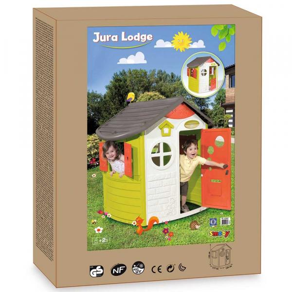 Casuta pentru copii Smoby Jura Logde Playhouse [4]