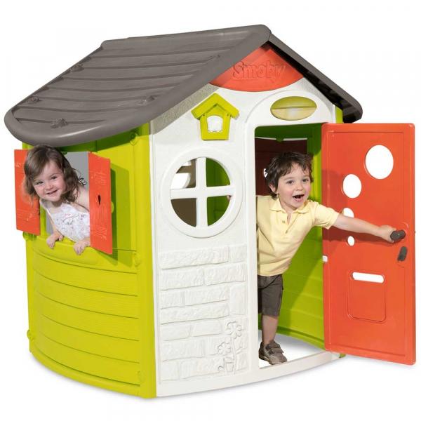 Casuta pentru copii Smoby Jura Logde Playhouse [3]
