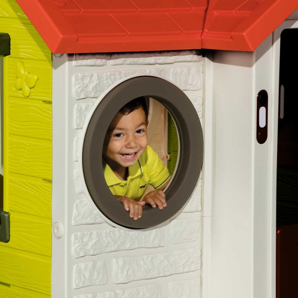 Casuta pentru copii Smoby My House cu masuta picnic 3