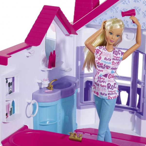 Casuta pentru papusi Simba Steffi Love My Dreamhouse cu accesorii 3