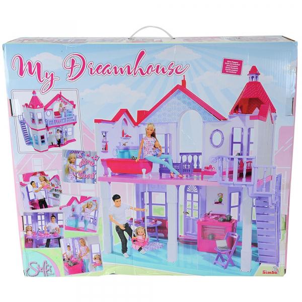 Casuta pentru papusi Simba Steffi Love My Dreamhouse cu accesorii 9