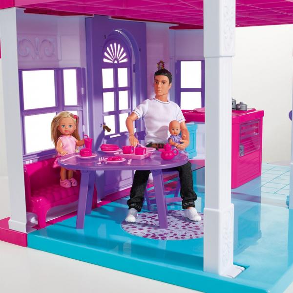 Casuta pentru papusi Simba Steffi Love My Dreamhouse cu accesorii 6