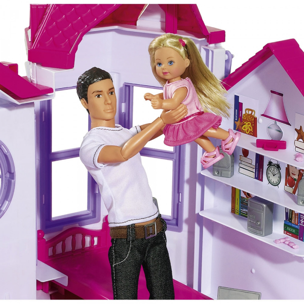 Casuta pentru papusi Simba Steffi Love My Dreamhouse cu accesorii 2