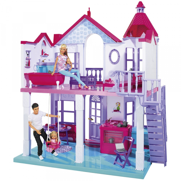 Casuta pentru papusi Simba Steffi Love My Dreamhouse cu accesorii 1