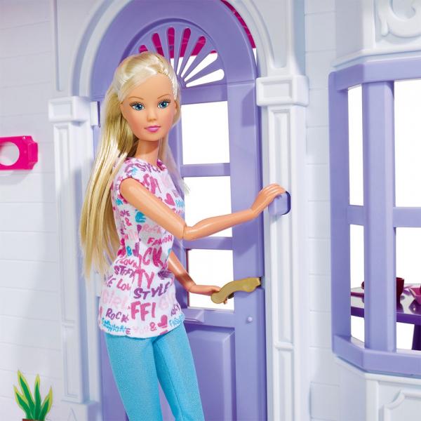 Casuta pentru papusi Simba Steffi Love My Dreamhouse cu accesorii 7