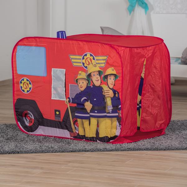 Cort de joaca John Fireman Sam Fire Truck Sam cu girofar 100x70x75 cm [10]