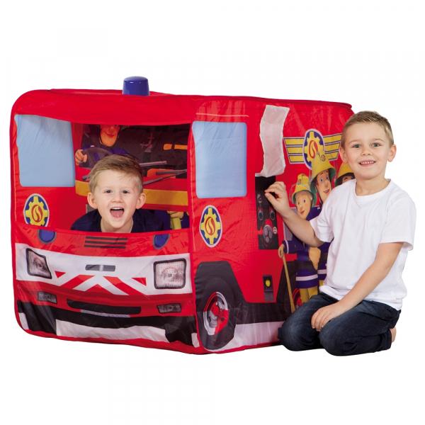 Cort de joaca John Fireman Sam Fire Truck Sam cu girofar 100x70x75 cm [3]