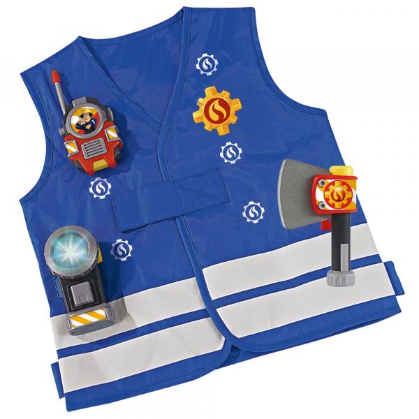 Costum pompieri Simba Fireman Sam 0