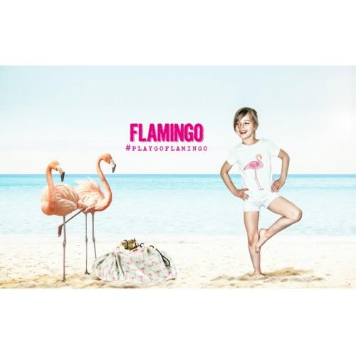 Covor joaca si organizator jucarii Flamingo 3
