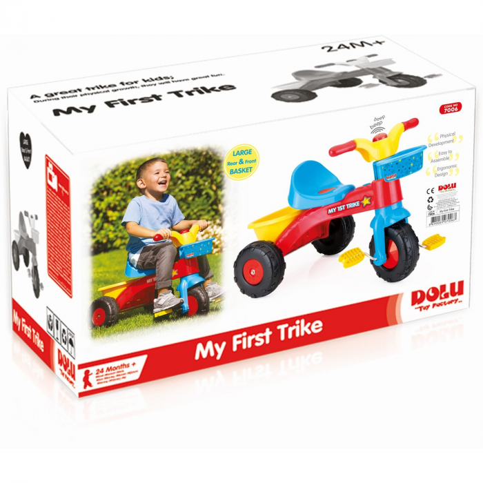 DOLU Prima mea tricicleta- Rapida 1