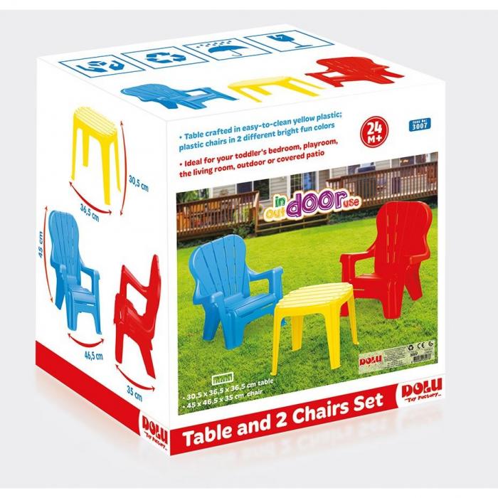 DOLU Set de masa cu scaune [2]