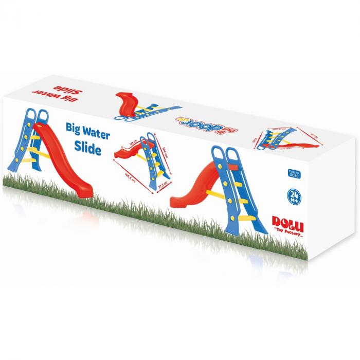 DOLU Tobogan mare pentru copii - viu colorat 1