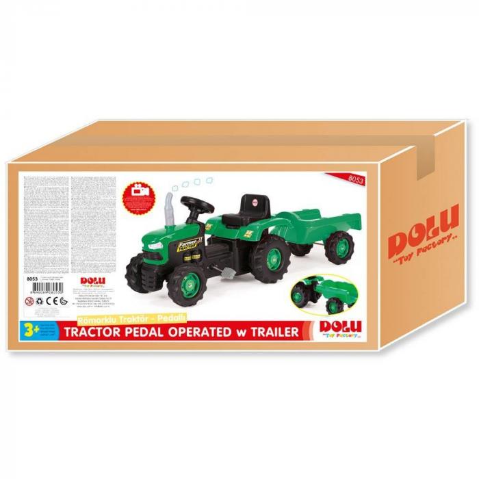 Tractor cu remorca 1