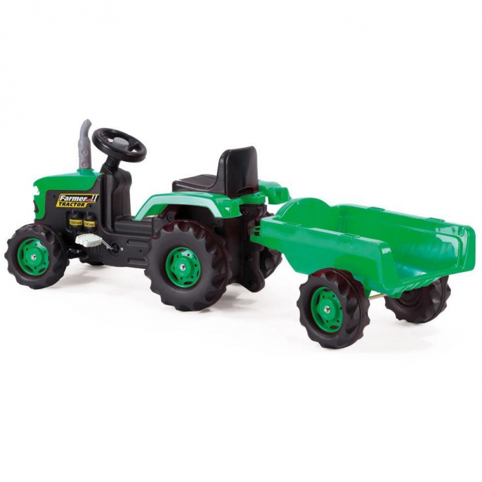 Tractor cu remorca 2