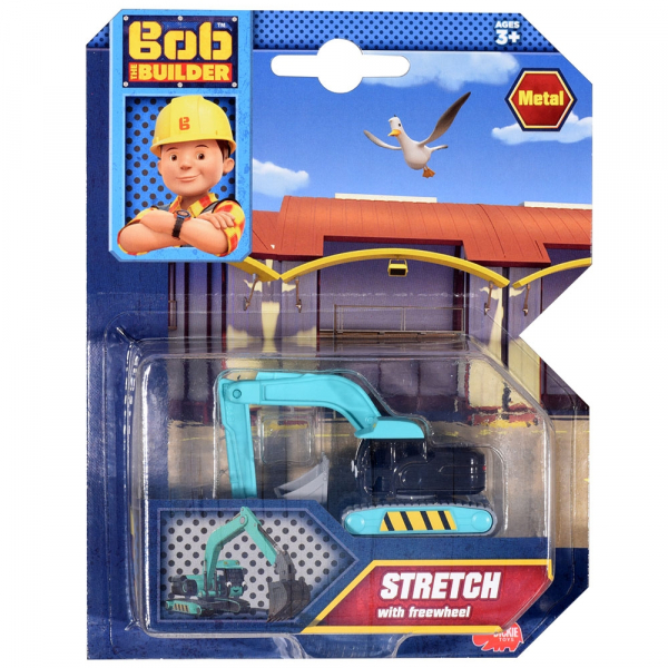 Excavator Dickie Toys Bob Constructorul Stretch 1