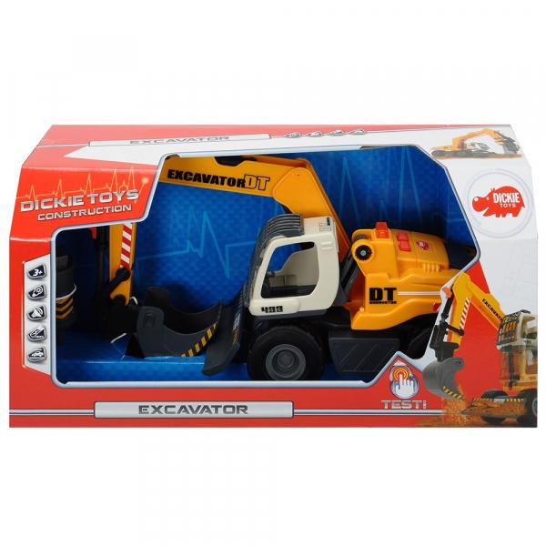 Excavator Dickie Toys DT 433 cu accesorii [7]