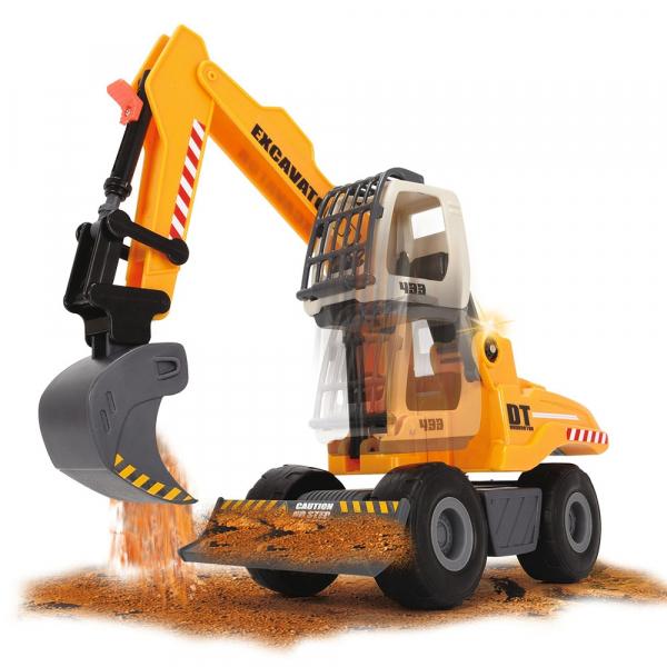 Excavator Dickie Toys DT 433 cu accesorii [6]