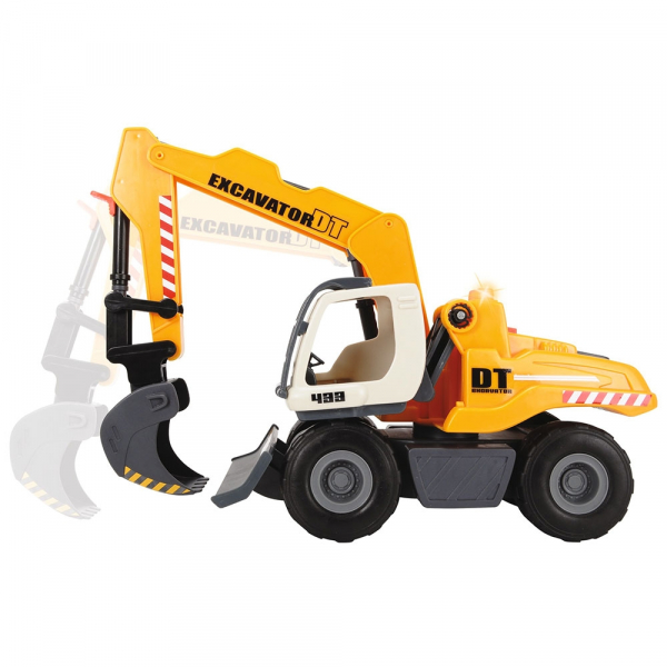 Excavator Dickie Toys DT 433 cu accesorii [1]