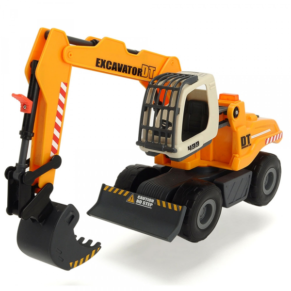 Excavator Dickie Toys DT 433 cu accesorii [0]