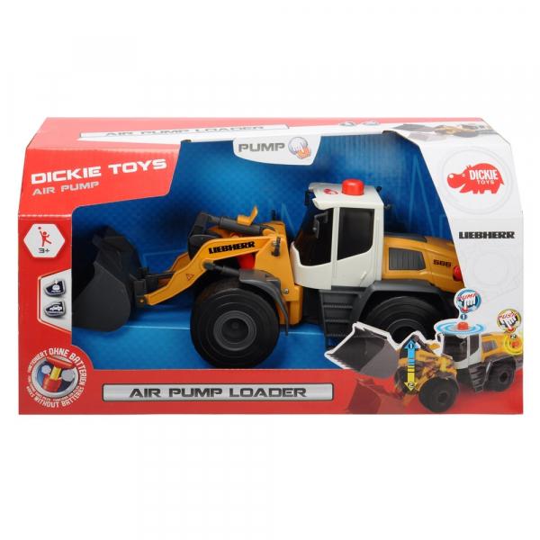 Excavator Dickie Toys Liebherr Air Pump Loader [6]