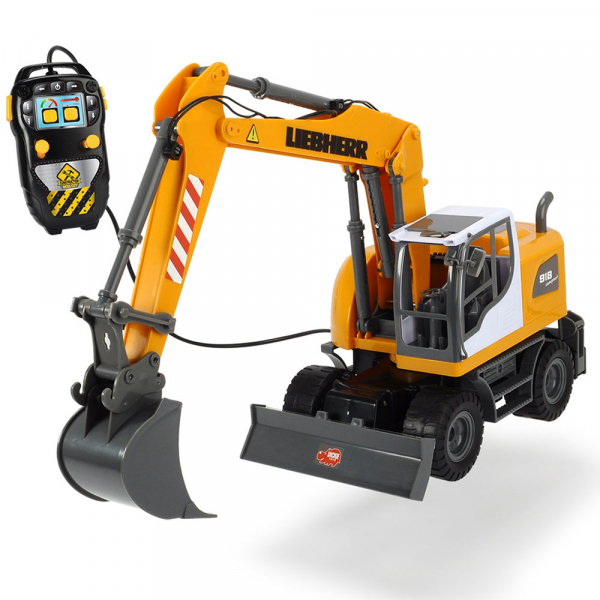 Excavator Dickie Toys Liebherr cu telecomanda 0