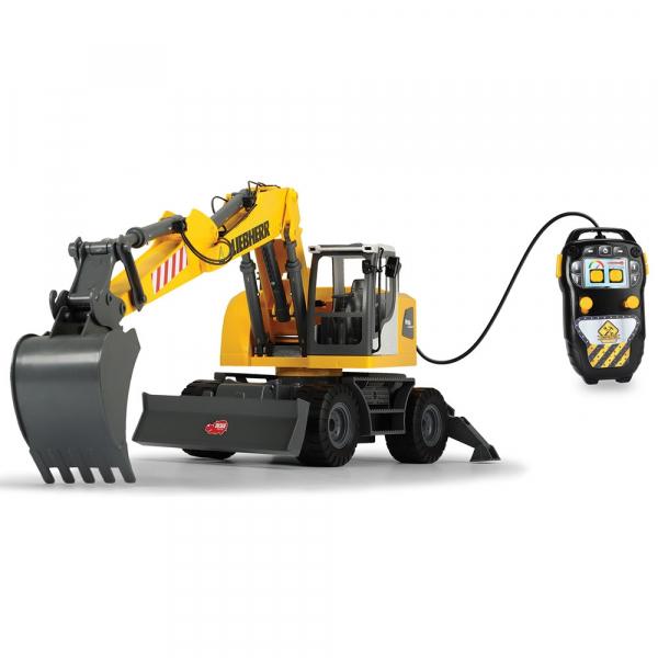 Excavator Dickie Toys Liebherr cu telecomanda 1