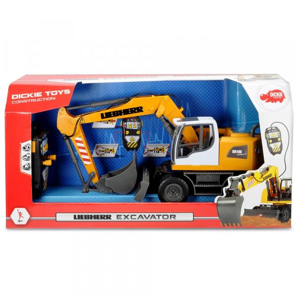 Excavator Dickie Toys Liebherr cu telecomanda 2
