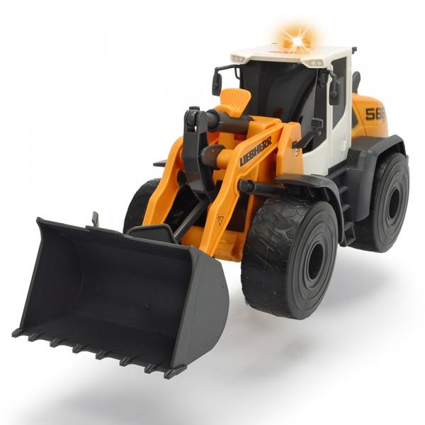 Excavator Dickie Toys Liebherr L566 Xpower cu sunete si lumini 0