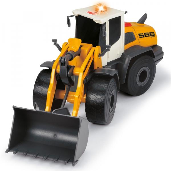 Excavator Dickie Toys Liebherr L566 Xpower cu sunete si lumini 1