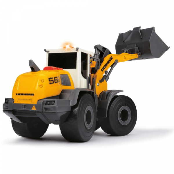 Excavator Dickie Toys Liebherr L566 Xpower cu sunete si lumini 3