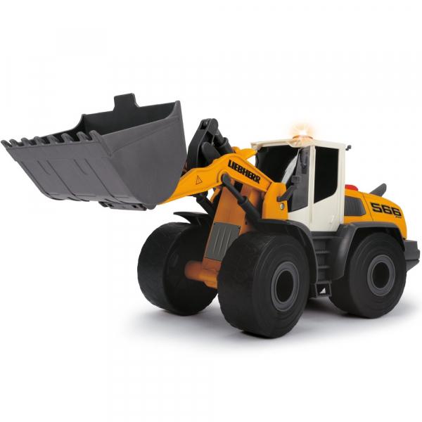 Excavator Dickie Toys Liebherr L566 Xpower cu sunete si lumini 2