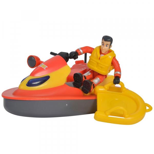 Jet Sky Simba Fireman Sam Juno cu figurina si accesorii 4