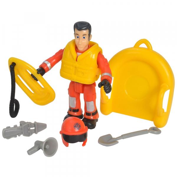 Jet Sky Simba Fireman Sam Juno cu figurina si accesorii 6