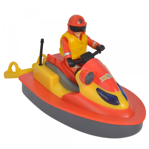 Jet Sky Simba Fireman Sam Juno cu figurina si accesorii 1