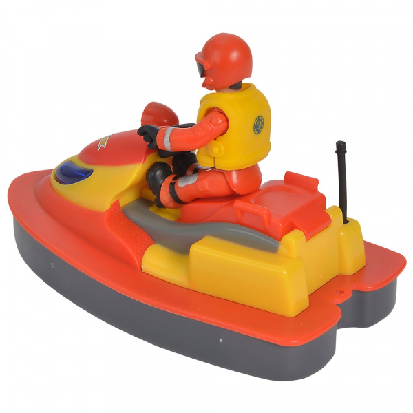 Jet Sky Simba Fireman Sam Juno cu figurina si accesorii 2