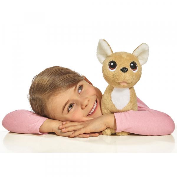 Jucarie de plus Simba Catel Chi Chi Love Puppy 20 cm cu geanta 2