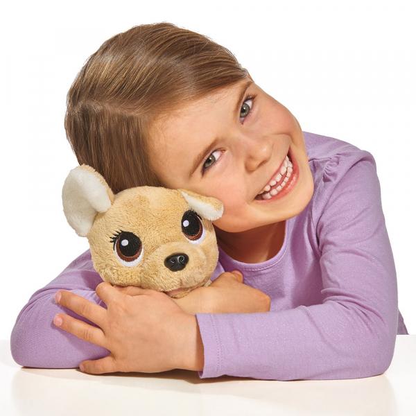 Jucarie de plus Simba Catel Chi Chi Love Puppy 20 cm cu geanta 3