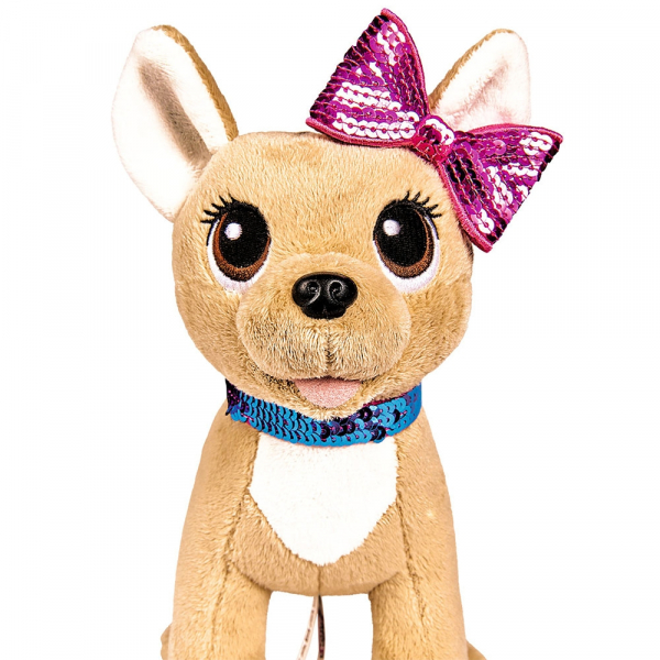 Jucarie de plus Simba Catel Chi Chi Love Swap fashion 20 cm cu geanta 1