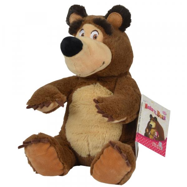 Jucarie de plus Simba Masha and the Bear, Bean Bag Bear 20 cm [1]