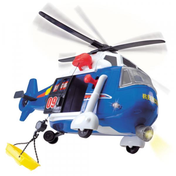 Jucarie Dickie Toys Elicopter Air Rescue cu sunete si lumini 5