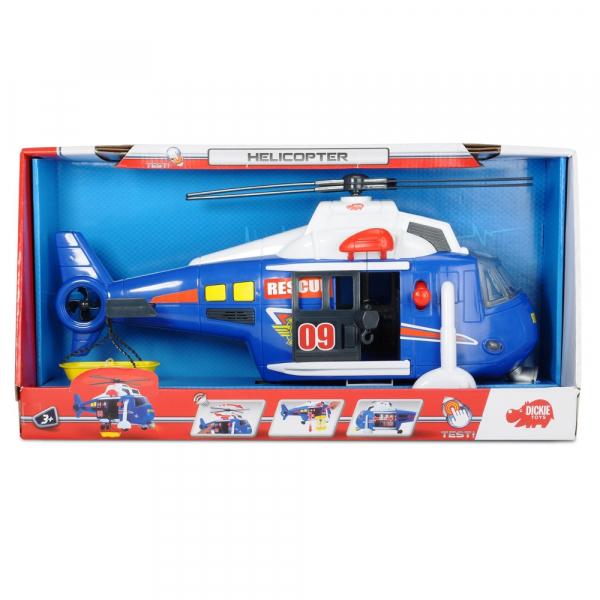 Jucarie Dickie Toys Elicopter Air Rescue cu sunete si lumini 7