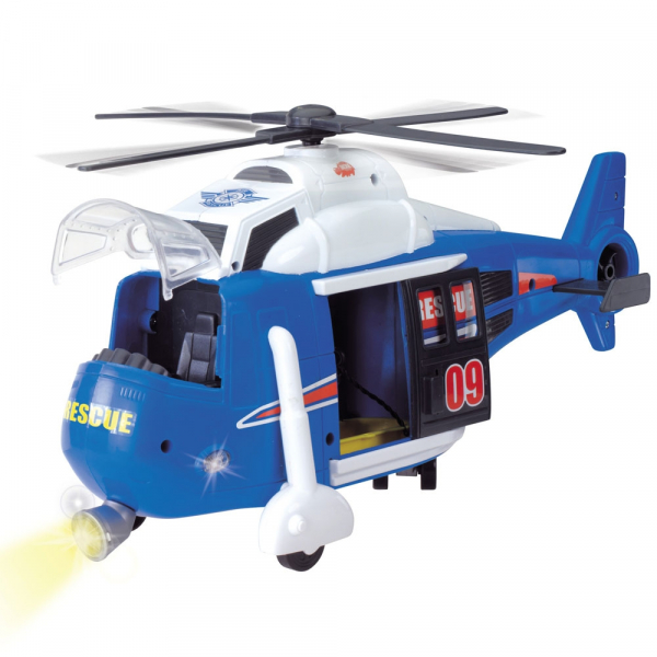 Jucarie Dickie Toys Elicopter Air Rescue cu sunete si lumini 4