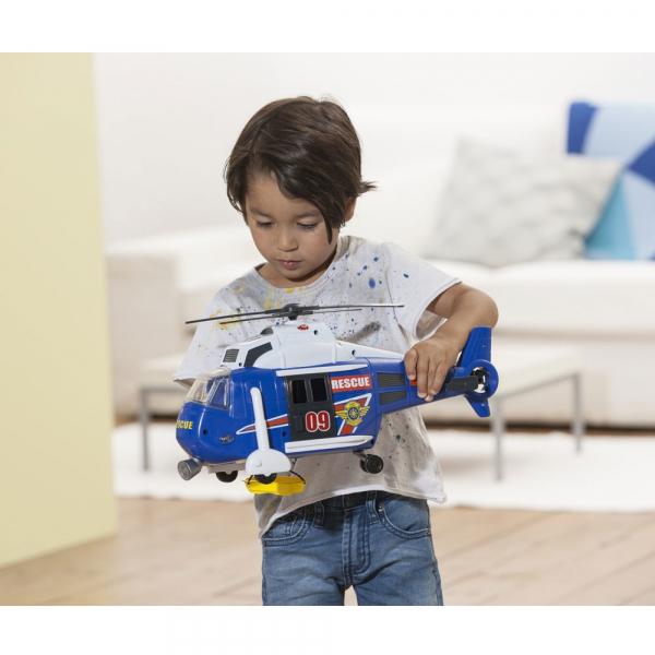 Jucarie Dickie Toys Elicopter Air Rescue cu sunete si lumini 6