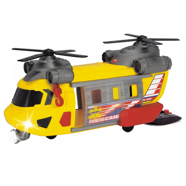 Jucarie Dickie Toys Elicopter de salvare Rescue Helicopter SAR-03 4