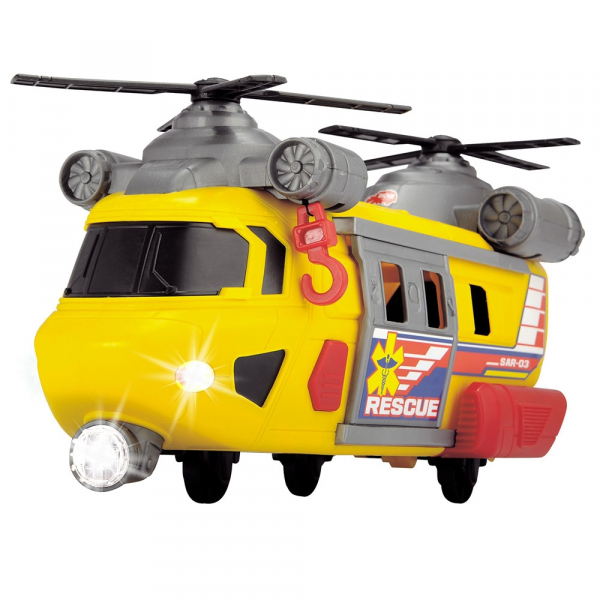 Jucarie Dickie Toys Elicopter de salvare Rescue Helicopter SAR-03 3