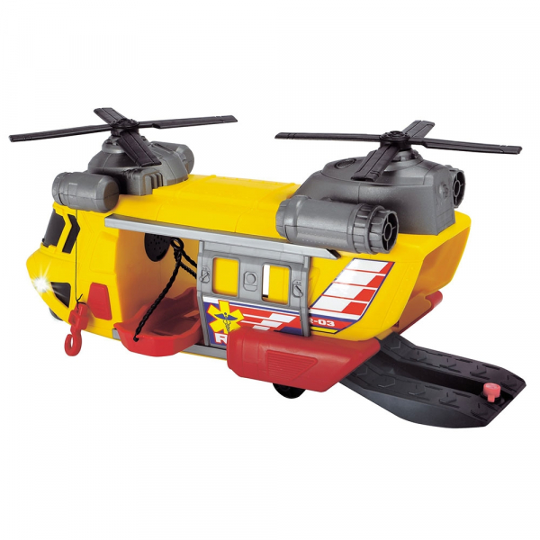Jucarie Dickie Toys Elicopter de salvare Rescue Helicopter SAR-03 2