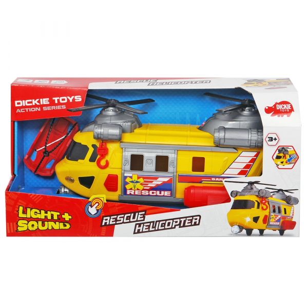 Jucarie Dickie Toys Elicopter de salvare Rescue Helicopter SAR-03 6