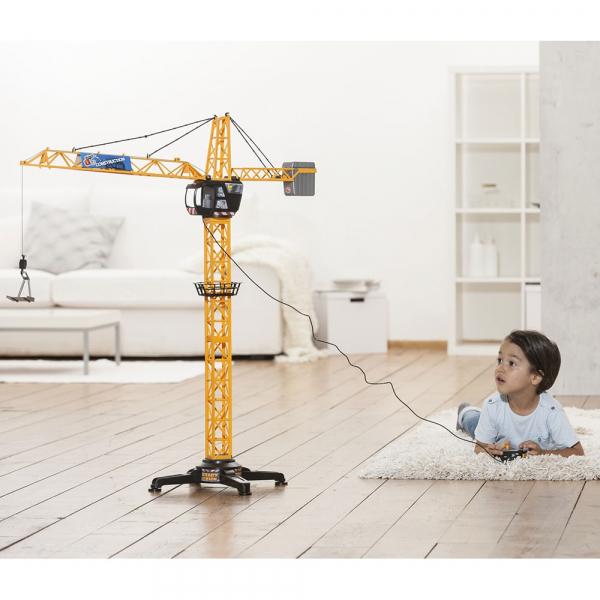 Jucarie Dickie Toys Macara Giant Crane cu telecomanda [3]