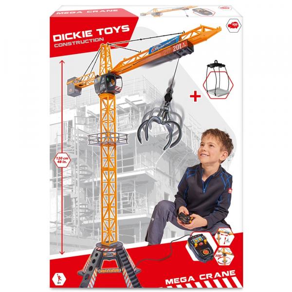 Jucarie Dickie Toys Macara Mega Crane cu telecomanda [7]