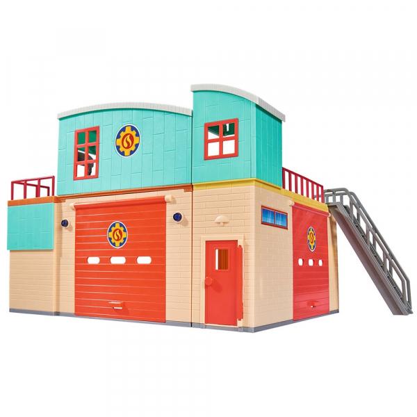 Jucarie Dickie Toys Statie de pompieri Fireman Sam cu figurina si accesorii 10